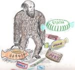 Charles Darwin - fruits of his theory